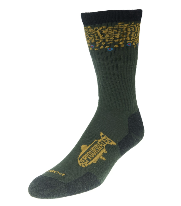 Rep Your Water Brook Trout Band Socks