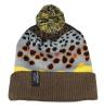 Rep Your Water Brown Trout 2 Skin Knit Hat