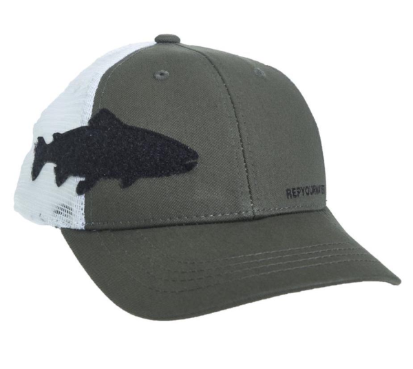Rep Your Water Hat Trout Fly Patch