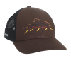 Rep Your Water Minimalist Brown Trout Hat