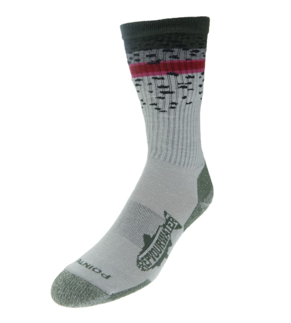 Rep Your Water Rainbow Trout Band Socks