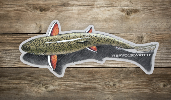 Rep Your Water Shallow Water Artist Reserve Sticker