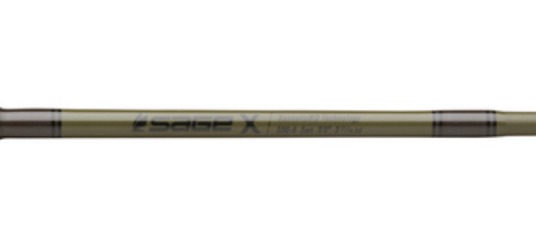 Sage X Fly Rod Special Edition TACTICAL GREEN