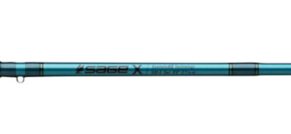 Sage X Fly Rod Special Edition TEAL