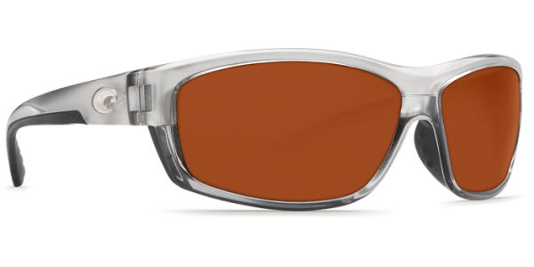Costa Del Mar Saltbreak Polarized Sunglasses Silver Copper Glass