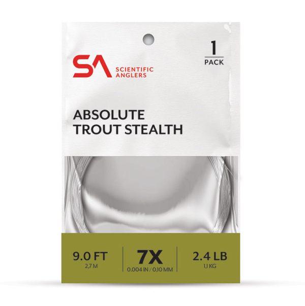 Scientific Anglers Absolute Trout Stealth Leader