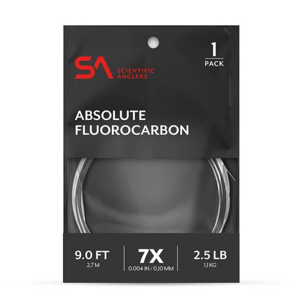 Scientific Anglers Absolute Fluorocarbon Leaders