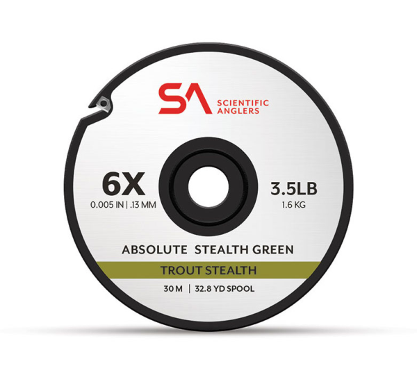Scientific Anglers Absolute Trout Stealth Tippet