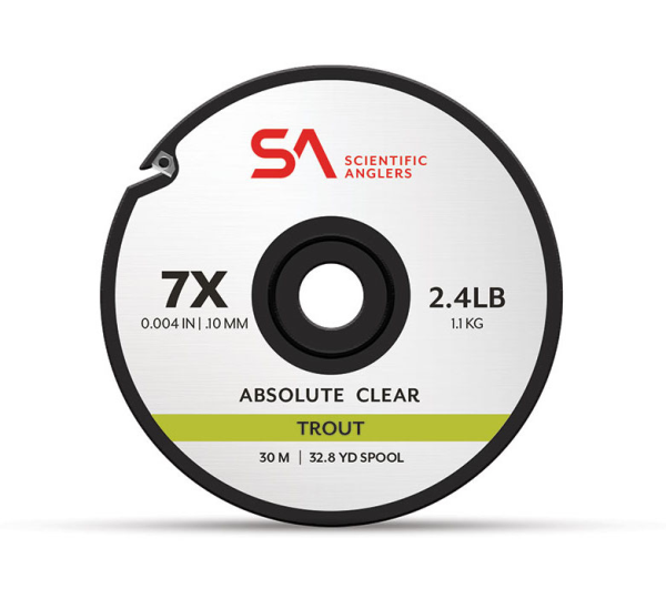 Scientific Anglers Absolute Trout Clear Tippet