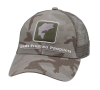 Simms Bass Icon Trucker Hat Pico Camo Mineral