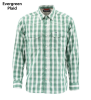 Simms Big Sky LS Shirt Evergreen Plaid