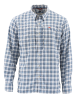 Simms Bugstopper LS Shirt Faded Denim Plaid