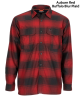 Simms ColdWeather Shirt Auburn Red Buffalo Blur Plaid