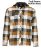 Simms Coldweather Hoody Dark Bronze Buffalo Plaid