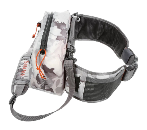 Simms Dry Creek Z Hip Pack Cloud Camo Grey Side 2