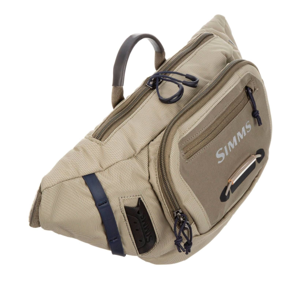 Simms Freestone Tactical Hip Pack Tan Side