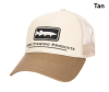 Simms Musky Icon Trucker Hat Tan