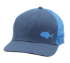 Simms Payoff Trucker Hat Blue Depths