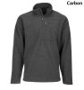 Simms Rivershed Quarter Zip Carbon