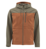 Simms Rogue Fleece Hoody Saddle Brown