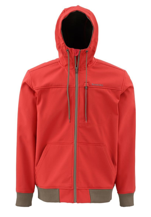 Simms Rogue Fleece Hoody Ruby