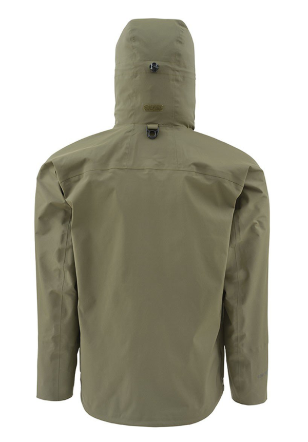 Simms Slick Jacket Loden Back