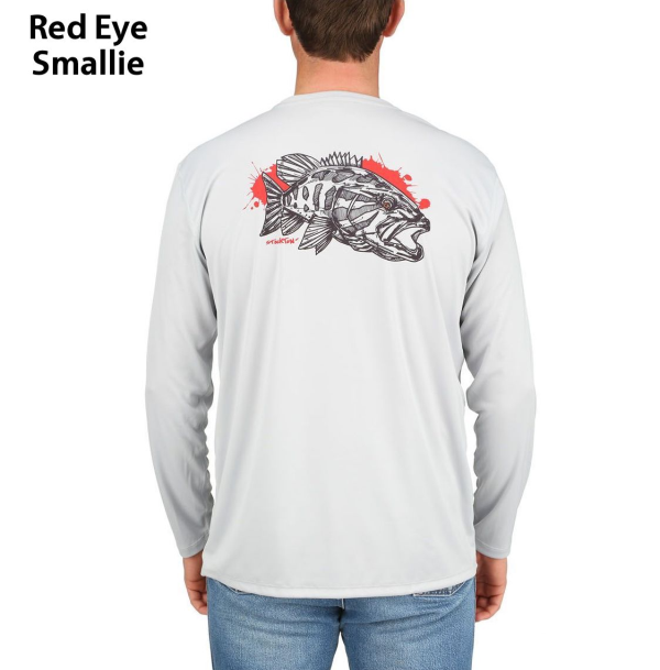Simms Solar Tech Tee Red Eye Smallie