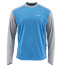 Simms SolarFlex Plus Crew Shirt Pacific