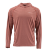Simms Solarflex Hoody Rusty Red Heather