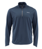 Simms Solarflex Plus Half Zip Shirt Dark Moon