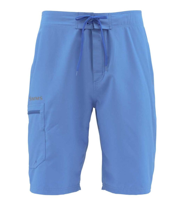 Simms Surf Short Gunmetal Olympic Blue