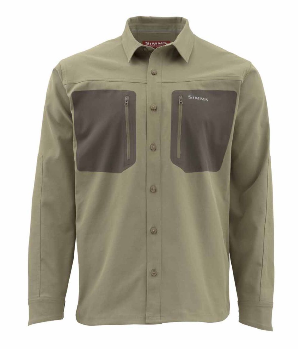 Simms Tongass Fishing Shirt Tan