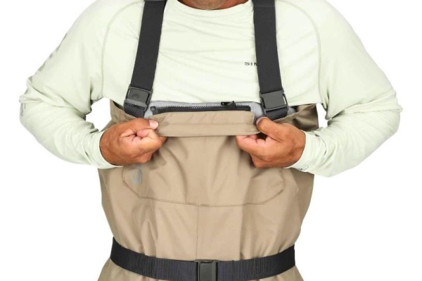 Simms Tributary Stockingfoot Breathable Waders Zipper