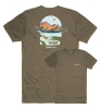Simms Underwood River T-Shirt Olive Heather