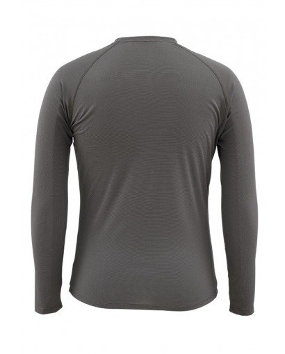Simms Waderwick Core Crewneck Coal Back