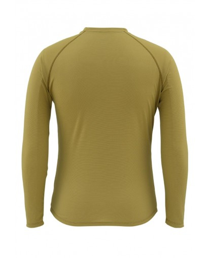 Simms Waderwick Core Crewneck Army Green Back