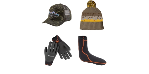 Fly Fishing Socks Hats Gloves for Sale