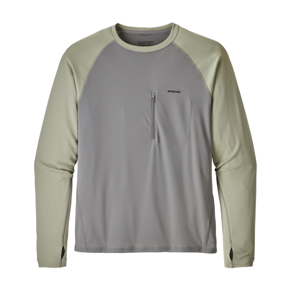 Sunshade Crew Feather Grey Desert Sage
