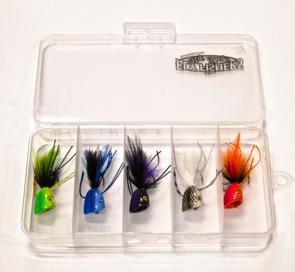 Surface Seducer Double Barrel Bass Bug Popper Assortment
