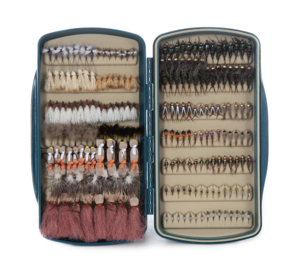 Tacky Pescador Fly Box Baja Blue Open Trout