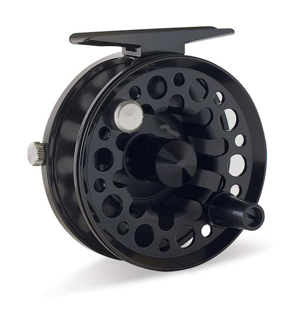 Tibor Light Tail Water Fly Fishing Reel Frost Black