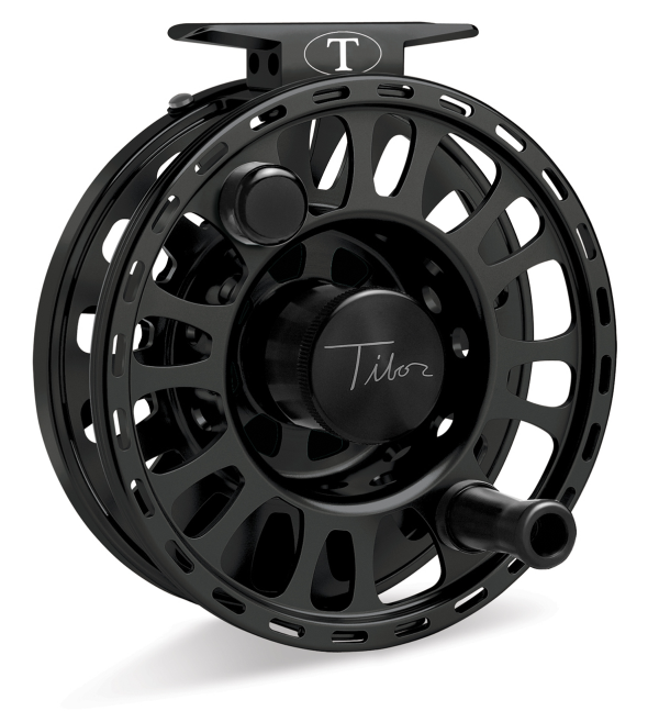 Tibor Signature Fly Fishing Reel Frost Black 11/12