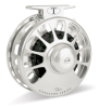 Tibor Signature Fly Fishing Reel Frost Silver 5/6