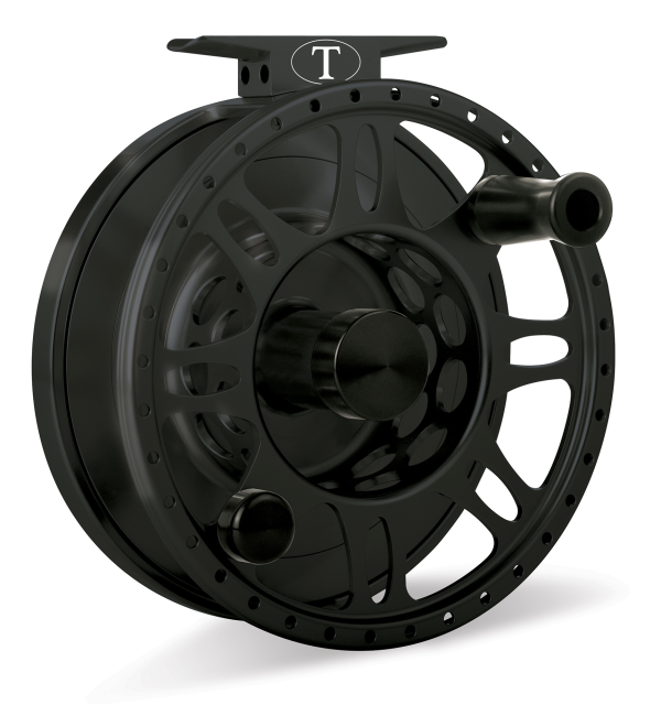 Tibor Everglades Frost Black Fly Fishing Reel