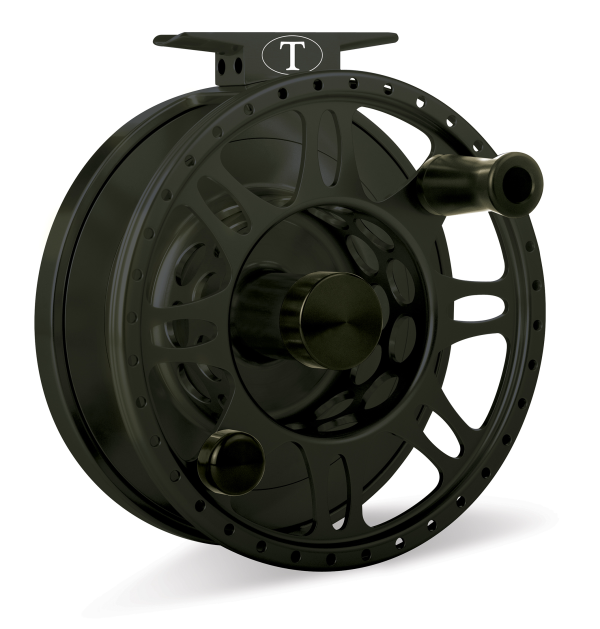 Tibor Everglades Jet Black Fly Fishing Reel