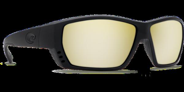 bce222290c Costa Del Mar Tuna Alley Polarized Sunglasses Blackout Silver Sunrise Poly