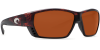 Costa Del Mar Tuna Alley Polarized Sunglasses Tortoise Copper Glass