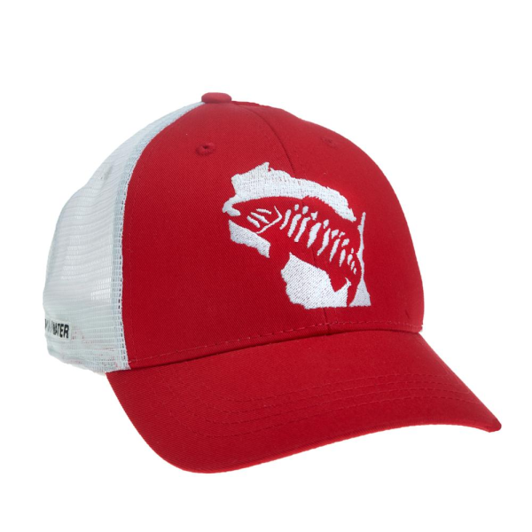 Rep Your Water Hat - Smallmouth Bass Wisconsin