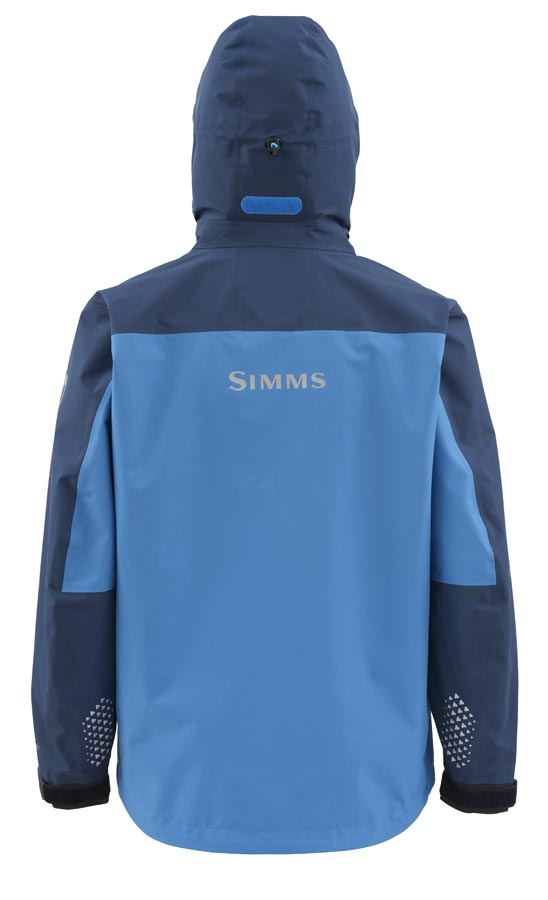 Simms Contender Jacket Navy Back