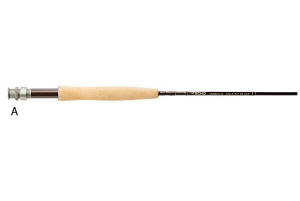 Echo Carbon XL Fly Rod Grip A